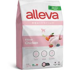 Alleva cat Equilibrium корм для котят с курицей
