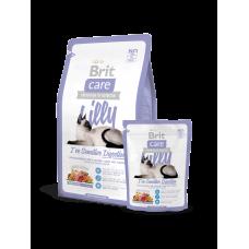 Brit Care Cat Lilly I've Sensitive Digestion для кошек с чувствительным пищеварением с ягненком и лососем (2кг, 7кг)