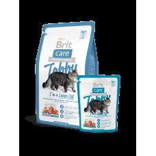 Brit Care Cat Tobby I'm a Large Cat для кошек крупных пород с уткой (2кг)