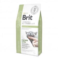 Brit Veterinary Diet Cat Grain free Diabetes. Беззерновая диета при диабете 2кг