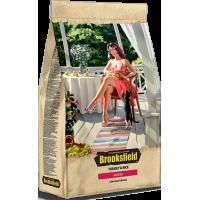 Brooksfield INDOOR корм для домашних кошек индейка/рис 400гр