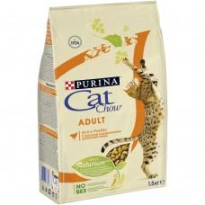 Cat Chow Adult для взрослых кошек с птицей