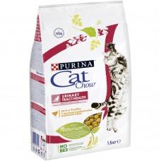 Cat Chow Urinary профилактика мочекаменной болезни с домашней птицей