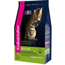 Eukanuba Cat Adult Hairball профилактика образования комков шерсти в ЖКТ 400г