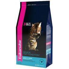 Eukanuba Cat Senior для кошек старше 7 лет 400г