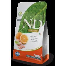 Farmina N&D Беззерновой Рыба, апельсин 300гр