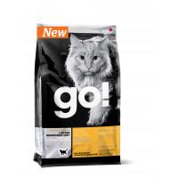 GO! SENSITIVITY + SHINE Беззерновой для Котят и Кошек с Чувств.пищеварением со свежей уткой 7.26кг