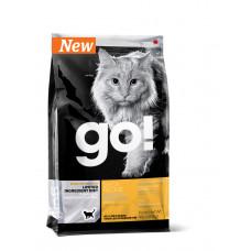 GO! SENSITIVITY + SHINE Беззерновой для Котят и Кошек с Чувств.пищеварением со свежей уткой 1.82кг