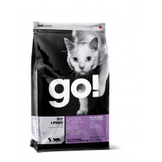 GO! FIT + FREE Беззерновой для Котят и Кошек - 4 вида Мяса: Курица, Индейка, Утка и Лосось 100гр