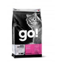 GO! DAILY DEFENCE Для Котят и Кошек с Цельной Курицей, фруктами и овощами 1.82кг