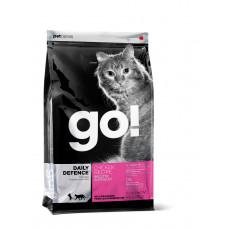 GO! DAILY DEFENCE Для Котят и Кошек с Цельной Курицей, фруктами и овощами 100гр