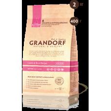 Grandorf KITTEN ягненок рис для котят 400г