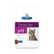 Hills Prescription Diet y/d при заболевании щитовидной железы (1.5кг)