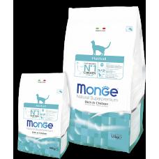 Monge Cat Hairball профилактика образования комков шерсти 1.5кг