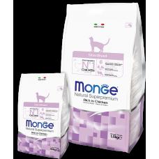 Monge Cat Sterilised для стерилизованных кошек 400г