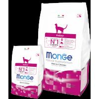 Monge Cat Indoor для домашних кошек 400г