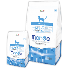 Monge Cat Urinary для профилактики мочекаменной болезни 1.5кг