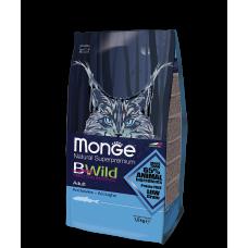 Monge BWild Anchovies для кошек с анчоусами 1.5кг