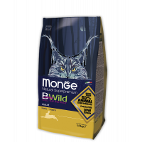Monge BWild Hare для кошек с зайцем 1.5кг