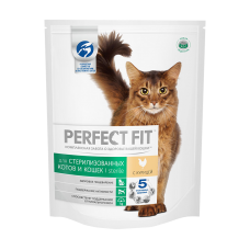 Perfect Fit Sterile для стерилизованных котов и кошек с курицей