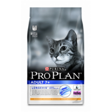 Pro Plan Adult 7+ для кошек старше 7 лет с курицей  1.5кг