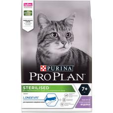 Pro Plan Sterilised 7+ для стерилизованных кошек старше 7 лет с индейкой (100гр)