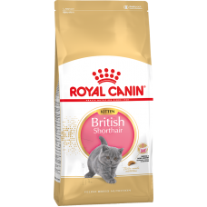 Royal Canin BRITISH KITTEN для котят британской породы 400гр