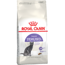 Royal Canin STERILISED для стерилизованных кошек до 7лет 2кг