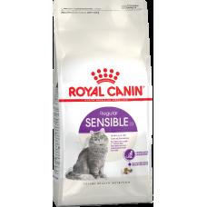 Royal Canin SENSIBLE для кошек с чувствительной пищеварительной системой 4кг