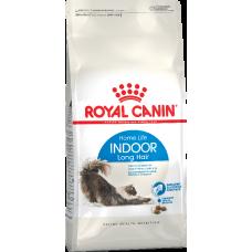 Royal Canin INDOOR LONG HAIR для длинношерстных кошек от 1 до 7 лет 2кг