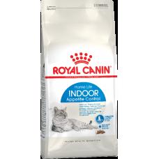 Royal Canin INDOOR APPETITE CONTROL для кошек склонных к перееданию 400г
