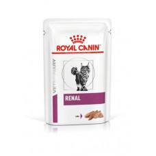 Royal Canin RENAL при хронической почечной недостаточности паштет 85г