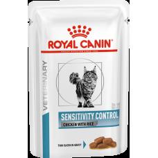 Royal Canin SENSITIVITY CONTROL при пищевой аллергии и непереносимости 85г