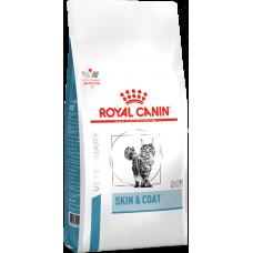 Royal Canin SKIN & COAT для кастрированных / стерилизованных котов и кошек с повышенной чувствительностью кожи 400г