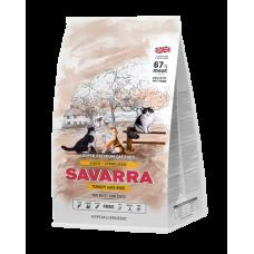 Savarra Light Cat гипоаллергенный корм для взрослых кошек с избыточным весом и стерилизованных с индейкой 400г