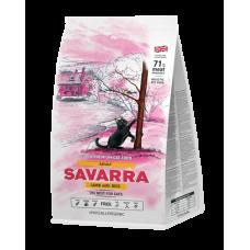 Savarra Adult Cat гипоаллергенный корм для взрослых кошек с ягненком 400г