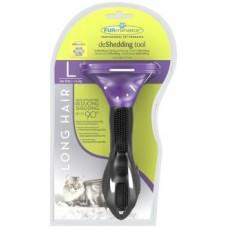 FURminator для кошек больших длинношерстных пород Long Hair Large Cat 7 см