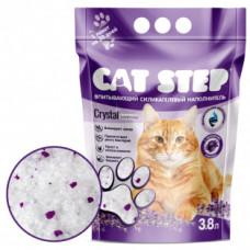 CAT STEP силикагелевый наполнитель с ароматом лаванды