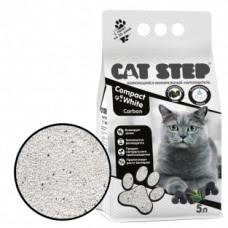 CAT STEP Compact White Carbon комкующийся