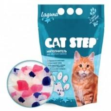 CAT STEP Laguna силикагелевый наполнитель (3.8л)