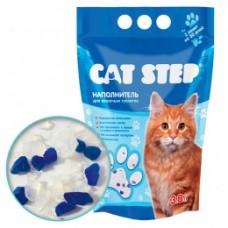 CAT STEP силикагелевый наполнитель (3.8л, 7.6л, 15.2л)