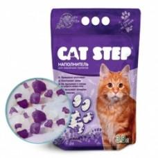 CAT STEP силикагелевый наполнитель с ароматом лаванды (3.8л)