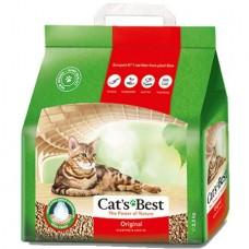 Cat's Best Original наполнитель древесный комкующийся