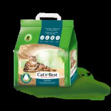 Cat's Best Sensitive наполнитель древесный комкующийся
