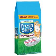 Fresh Step Extreme впитывающий наполнитель с тройным контролем запахов (3.17кг, 6.35кг, 9.52кг, 15.8кг)
