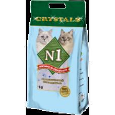 N1 Cristals силикагелевый наполнитель (5л, 12.5л, 30л)