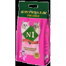 "N1 Cristals ""For Girls"" силикагелевый наполнитель (5л, 12.5л)"
