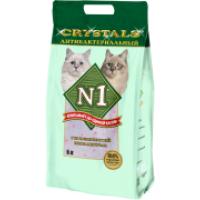 """N1 Cristals """"Антибактериальный"""" силикагелевый наполнитель (5л)"""