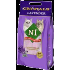 """N1 Cristals """"Lavender"""" силикагелевый наполнитель (5л)"""
