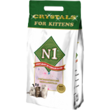"N1 Cristals ""For Kittens"" силикагелевый наполнитель (5л)"